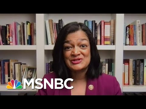 Rep. Jayapal Talks About The 13 Minute Montage Video Of The Capitol Riot   MTP Daily   MSNBC 1