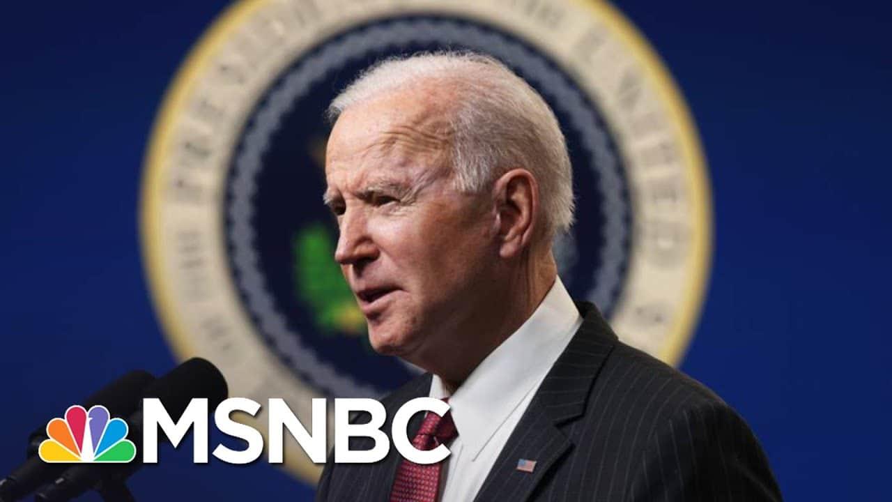 Trump's Impeachment Over, Biden Pushes Ahead On His Agenda | The 11th Hour | MSNBC 3