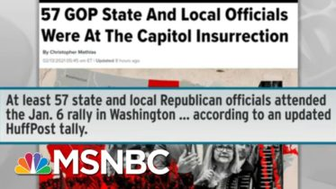 Backlash Against January 6 Insurrection Drives New Interest In Running For Office   Rachel Maddow 6