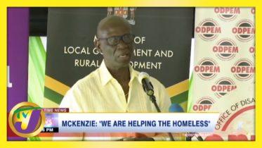JLP Desmond Mckenzie: 'We are Helping the Homeless' - February 15 2021 6