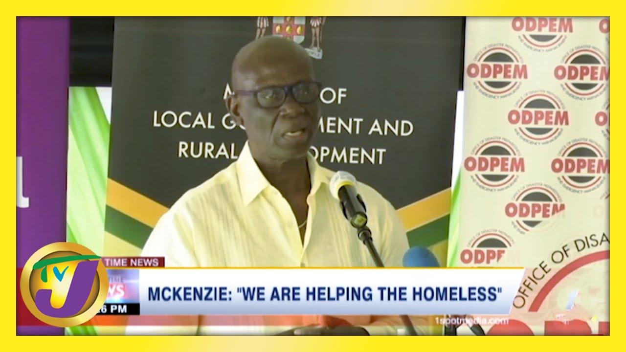 JLP Desmond Mckenzie: 'We are Helping the Homeless' - February 15 2021 1