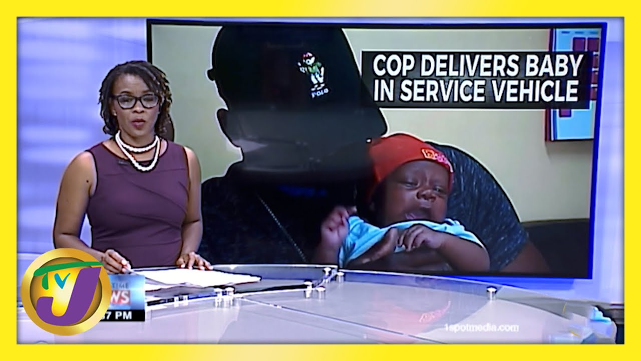 A Jamaican Police Officer Delivers Baby in Service Vehicle - February 15 2021 1