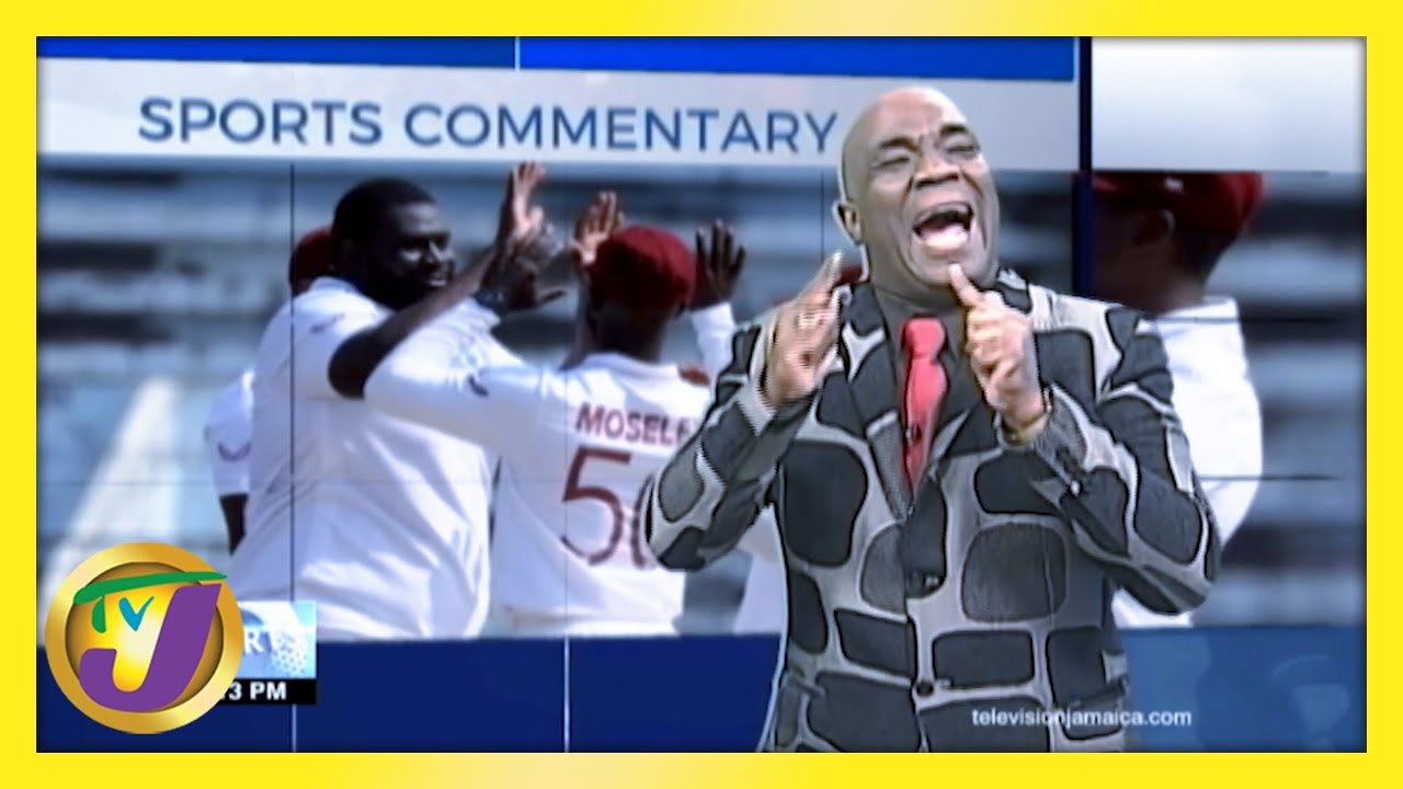 West Indies Win: TVJ Sports Commentary - February 15 2021 1