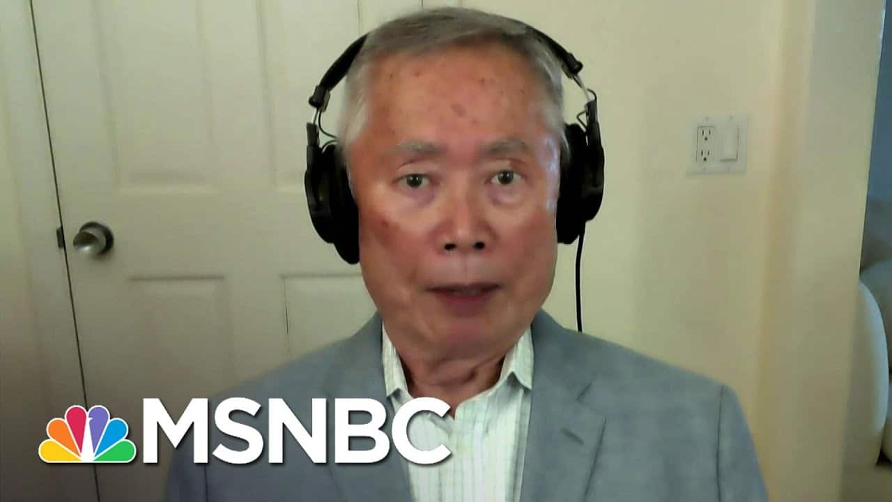 George Takei On Violence Against Asian Americans During COVID | The Last Word | MSNBC 1