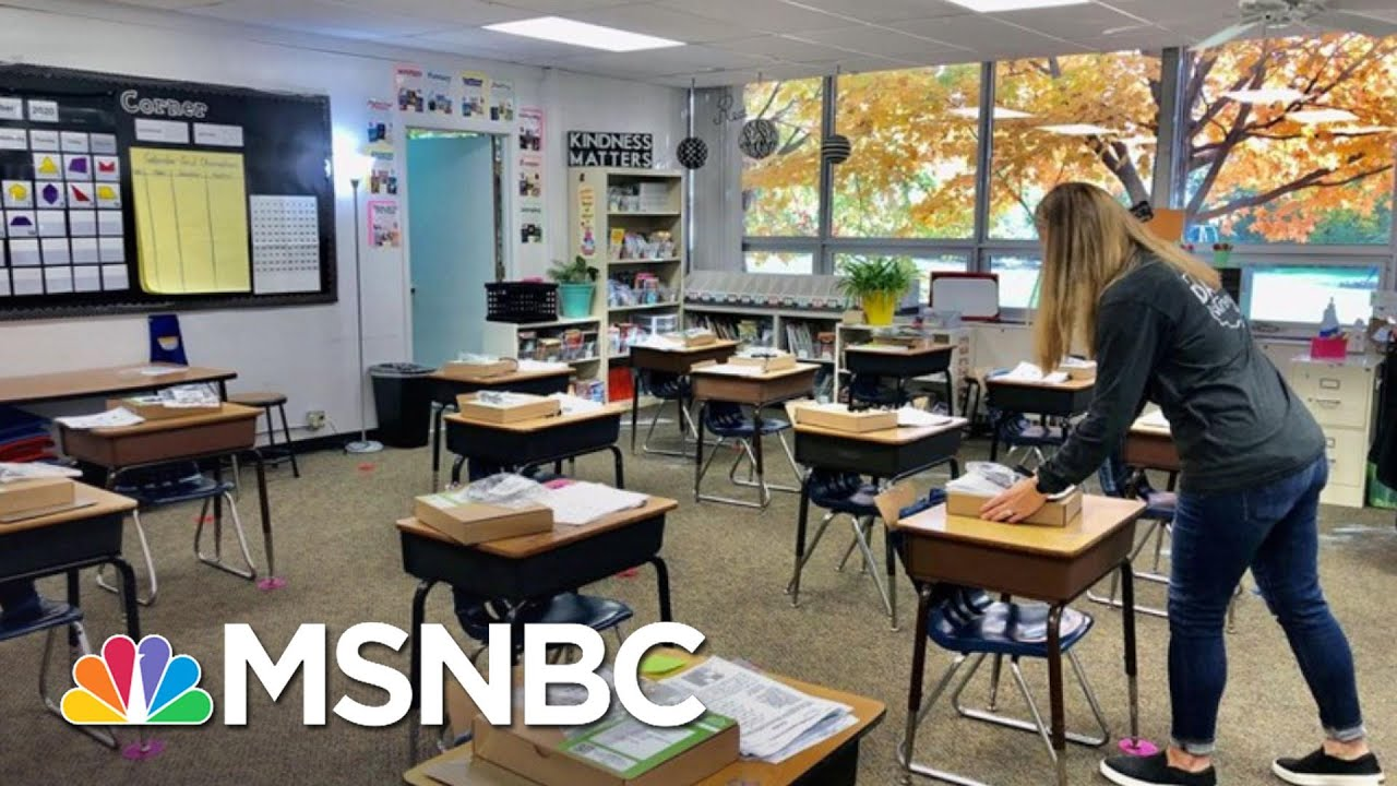 Kavita Patel: Covid Priority Is Reopening Schools, Not Bars | The 11th Hour | MSNBC 1