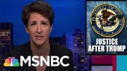 Next AG Faces Challenge Of Cleaning Up Wreckage Of DOJ After Trump | Rachel Maddow | MSNBC 7