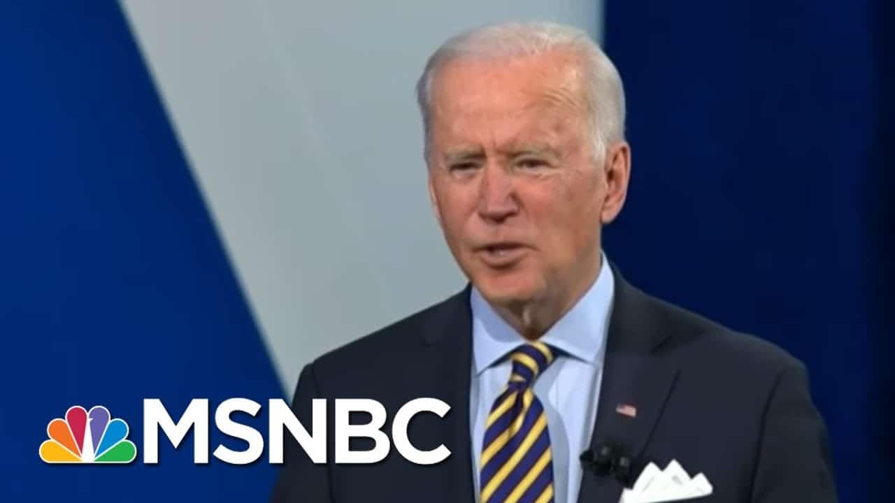 Biden Committed To Increasing Minimum Wage, Says WH Deputy Press Secretary | Morning Joe | MSNBC 1