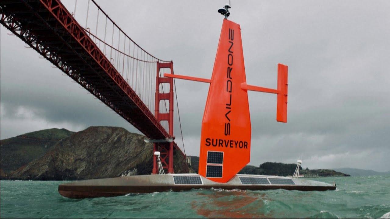 Meet the autonomous vessel collecting data on the oceans 3