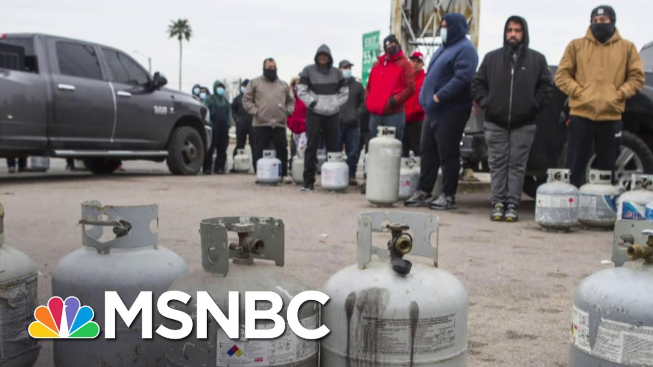 Texas Grapples With Power Issues As Cold Snap Has Turned Into Crisis   Craig Melvin   MSNBC 1