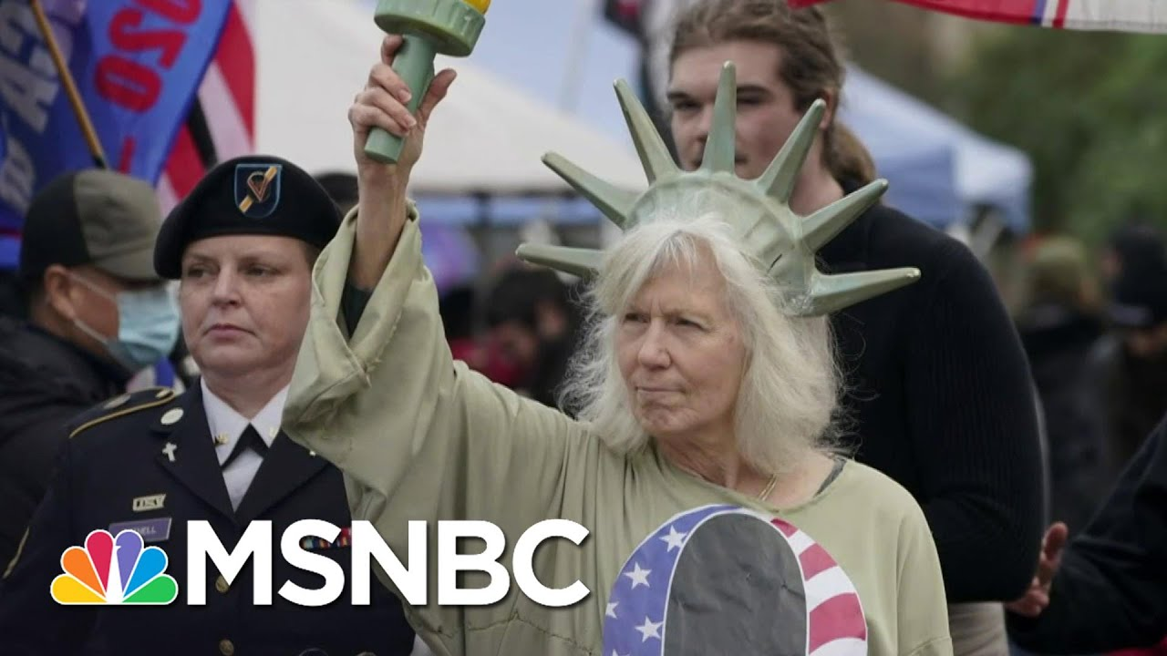 The Current State Of QAnon | Ayman Mohyeldin | MSNBC 8