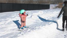 Quebec snowboarding toddler grabs online attention 3