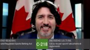 The internet is buzzing over the face Justin Trudeau made during this vote 2