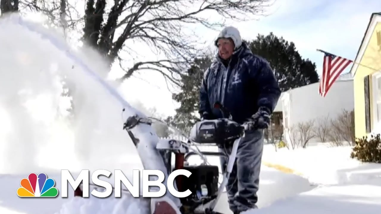 Texas Bearing Burden Of Failure To Heed Cold Weather Lesson Ten Years Ago | Rachel Maddow | MSNBC 6