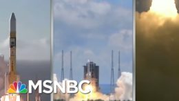 'Traffic Jam' As Three Nations' Mars Missions Arrive At The Red Planet | Rachel Maddow | MSNBC 7
