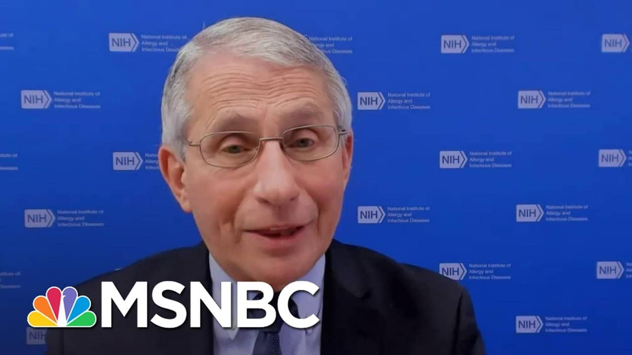 Fauci On When Life Can Return Back To Normal Amid Covid Pandemic, New Variants | Andrea Mitchell 1