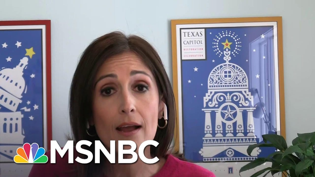Victoria DeFrancesco Soto: 'This Lying That Ted Cruz Is Giving Is Just So Hollow' | Deadline | MSNBC 1