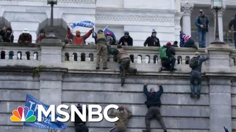 The Link From MAGA Riot To White Supremacy In U.S. Policing   The Beat With Ari Melber   MSNBC 1