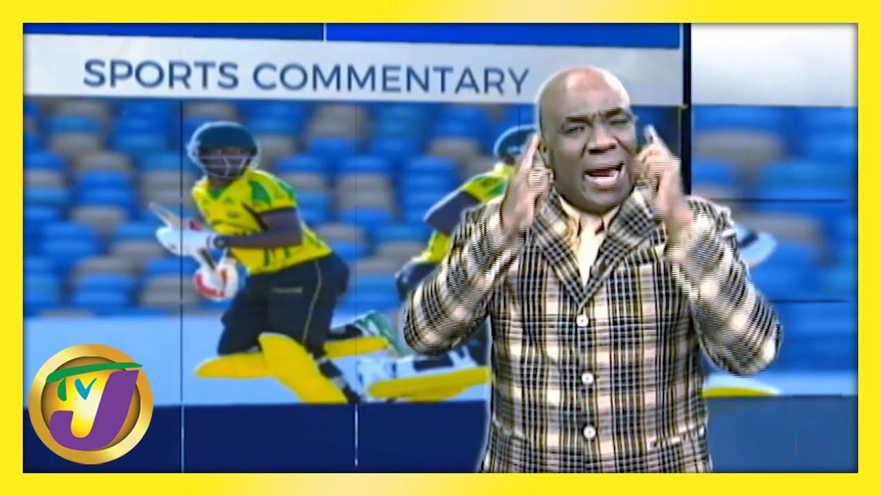 Jamaica's Cricket Team: TVJ Sports Commentary - February 16 2021 1