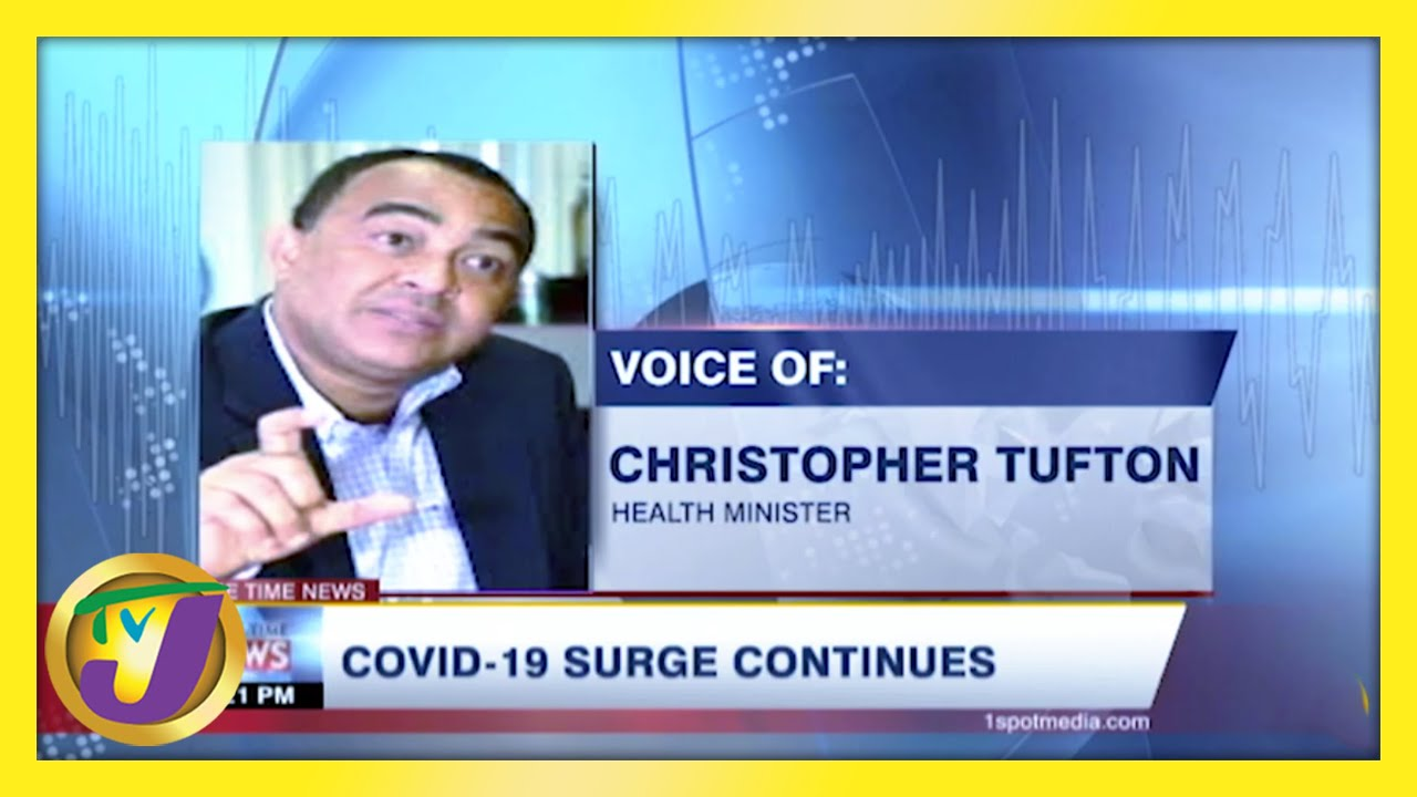 Covid-19 Surge Continues in Jamaica - February 16 2021 1