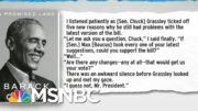 Democrats Nurse Fresh Memories Of Bad Faith Republican 'Bipartisanship' | Rachel Maddow | MSNBC 3