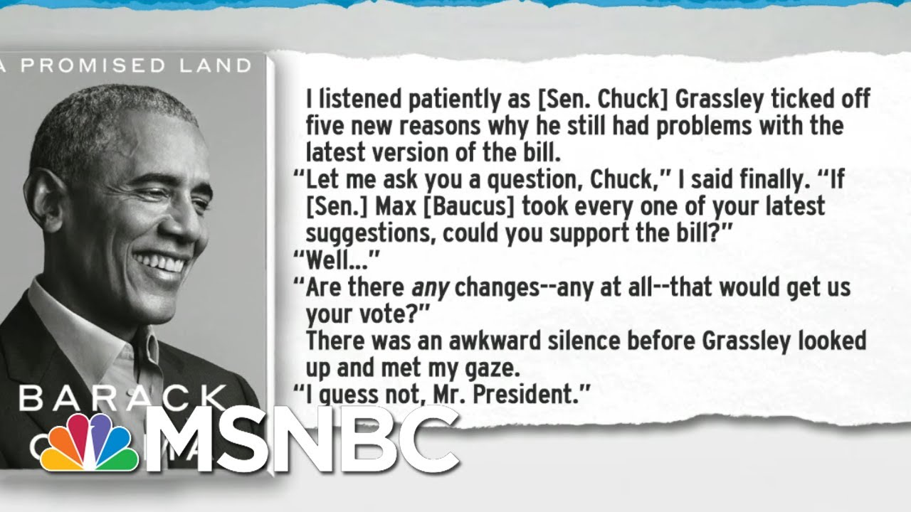 Democrats Nurse Fresh Memories Of Bad Faith Republican 'Bipartisanship'   Rachel Maddow   MSNBC 8