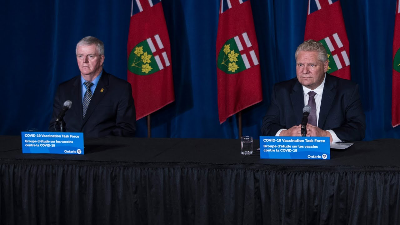 Doug Ford gives update on vaccine rollout, ongoing lockdowns   FULL UPDATE 3