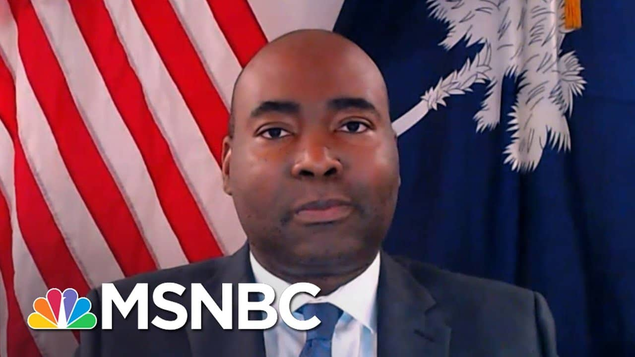 DNC Chair Harrison: 'We're Going To Fight Against These Oppressive Laws'   The Last Word   MSNBC 1