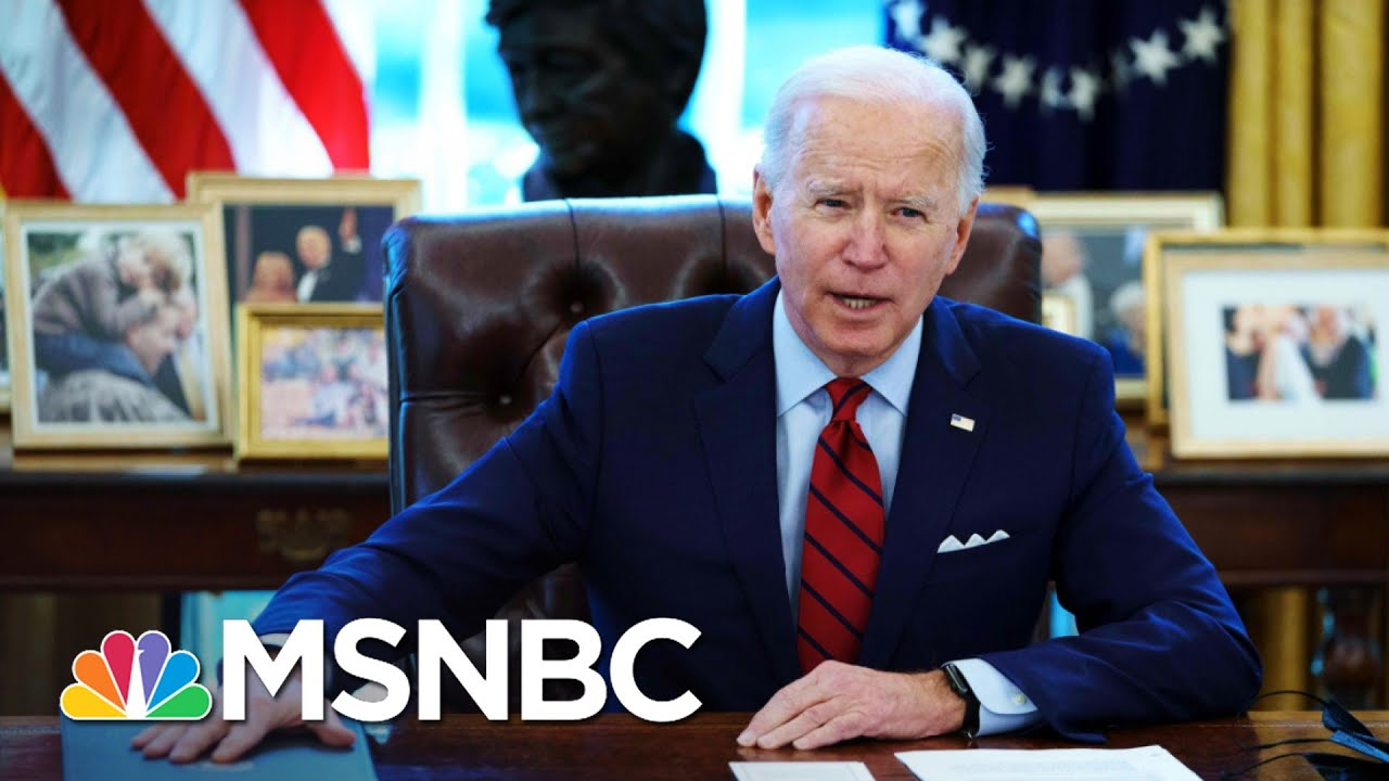 Carville And McKinnon Grade Biden's First 30 Days In Office   The 11th Hour   MSNBC 4