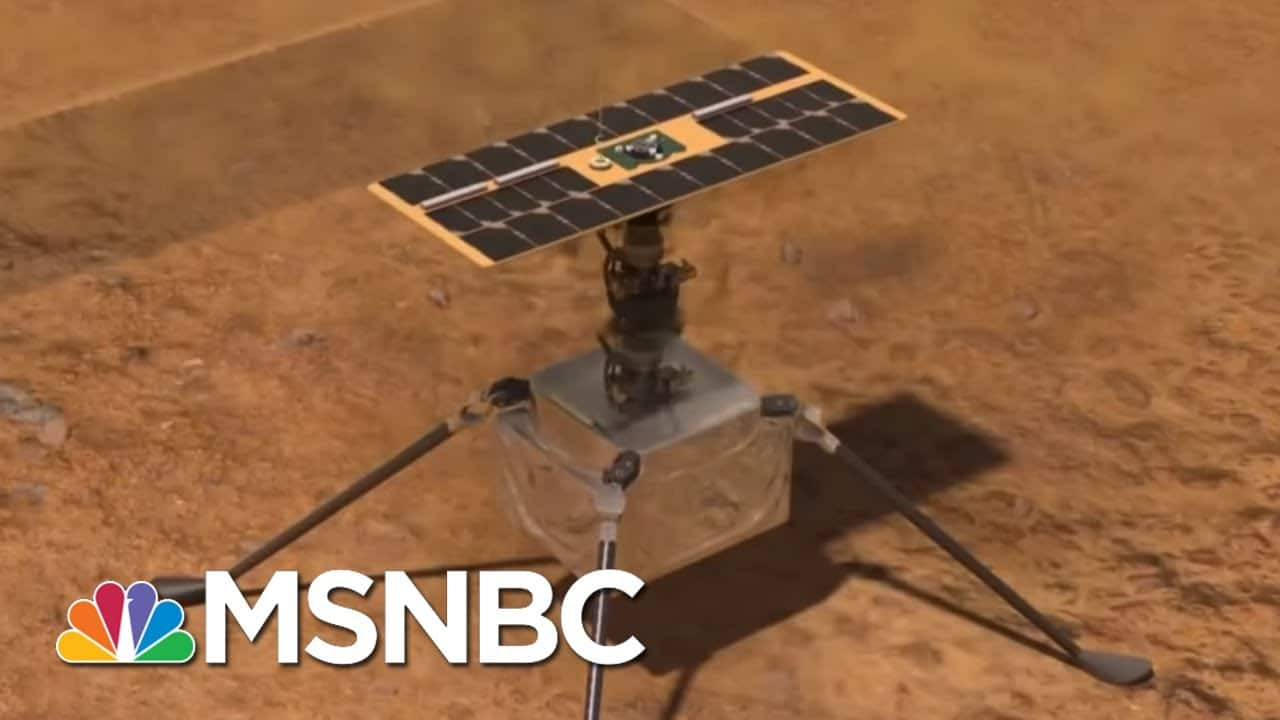NASA Shows U.S. Capable Of Amazing Feats Even As Texas Struggles With Basics | Rachel Maddow | MSNBC 1