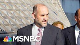 NYC Prosecutor Hires On Heavy-Hitting Attorney To Trump Case | Rachel Maddow | MSNBC 9