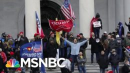 Capitol Police Investigating 35 Officers For Their Actions During Riot | Hallie Jackson | MSNBC 5