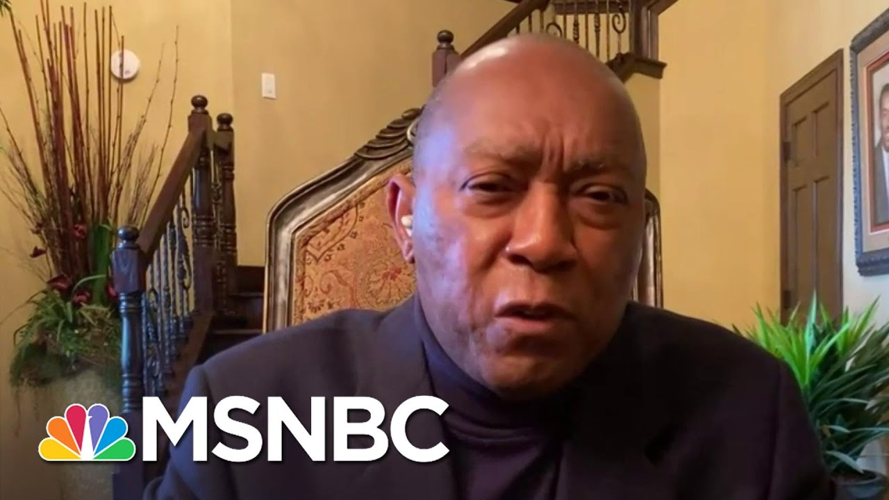 Houston Mayor Says Gov. Abbott Hasn't Reached Out Since TX Crisis Started | Stephanie Ruhle | MSNBC 4