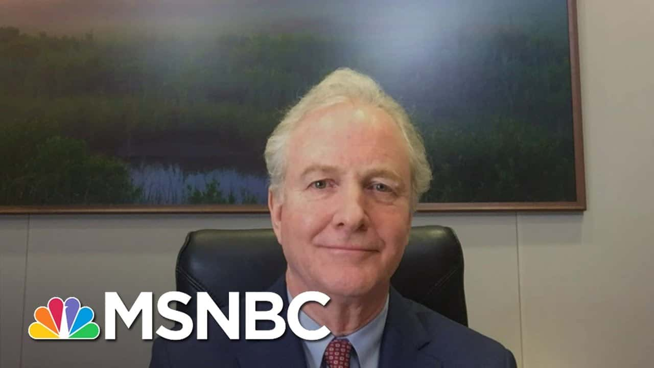 Sen. Van Hollen: 'We Have To Get Back On The World Stage' | Andrea Mitchell | MSNBC 1