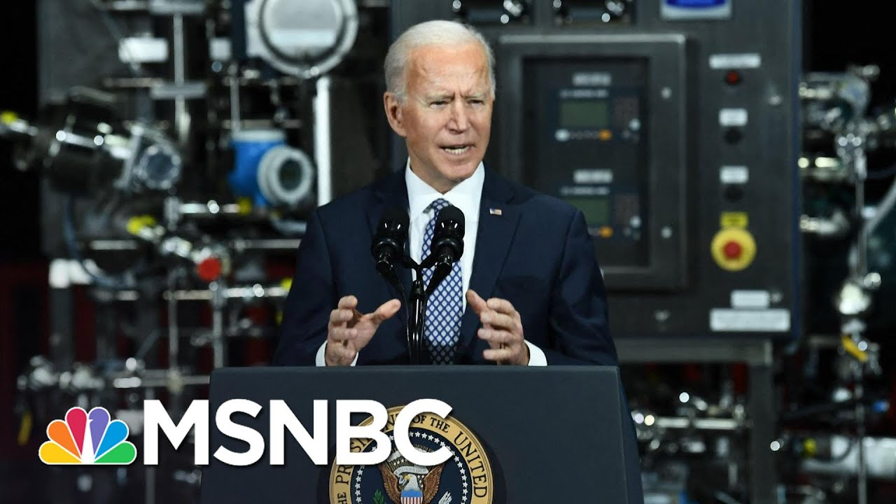 'The Vaccines Are Safe': Biden Urges Americans To Get Covid Vaccine As Soon As They Can | MSNBC 7