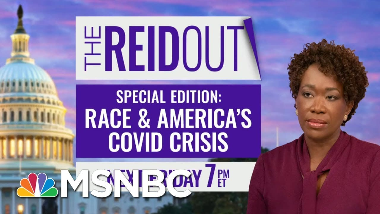 Reid Hosts 'Race And America's Covid Crisis' Town Hall With Dr. Fauci And CBC | The ReidOut | MSNBC 1