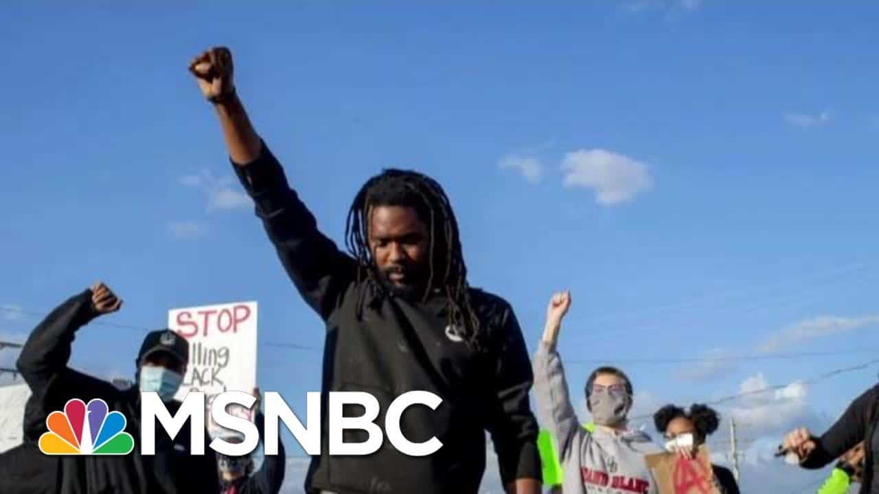 Killed For Jaywalking? Police Under Fire For Escalating Stop Of Black Man   The Beat With Ari Melber 1