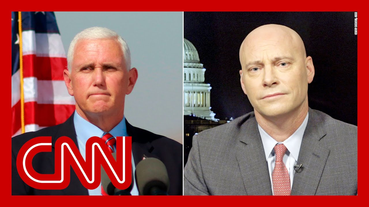Mike Pence's former chief of staff speaks with CNN 1