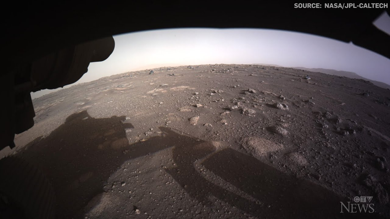 NASA releases first colour images sent from Mars 1