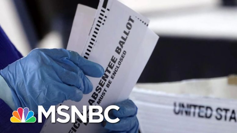 Georgia Is 'Ground Zero' For GOP Voter Suppression Efforts   The Last Word   MSNBC 1