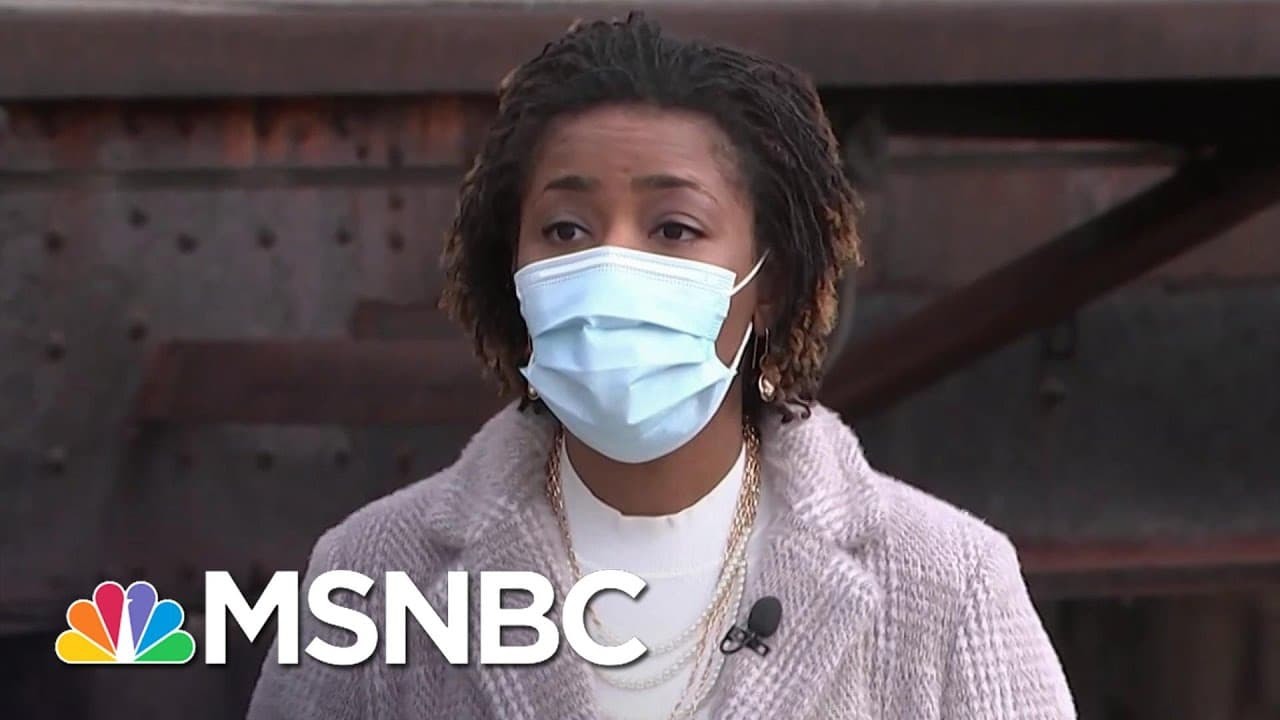 Birmingham Residents Discuss The Disproportionate Impact of COVID On Communities of Color   MSNBC 1