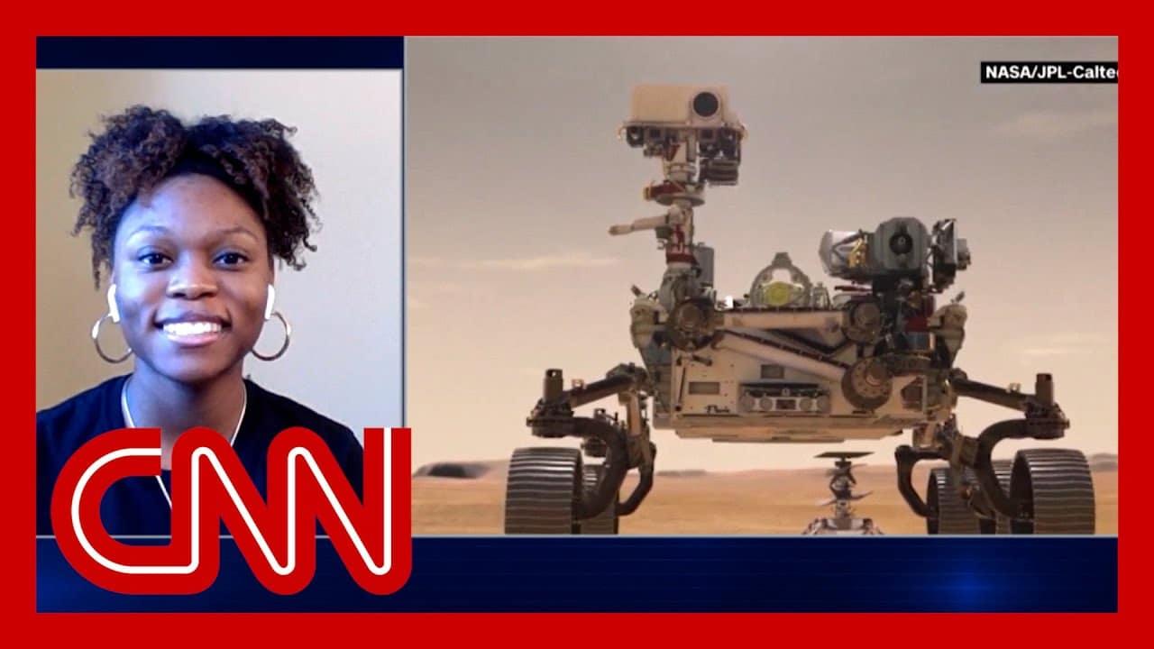 Georgia Tech student celebrates her work on Mars rover 9