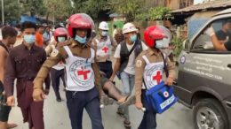 Two protesters killed in Myanmar 1