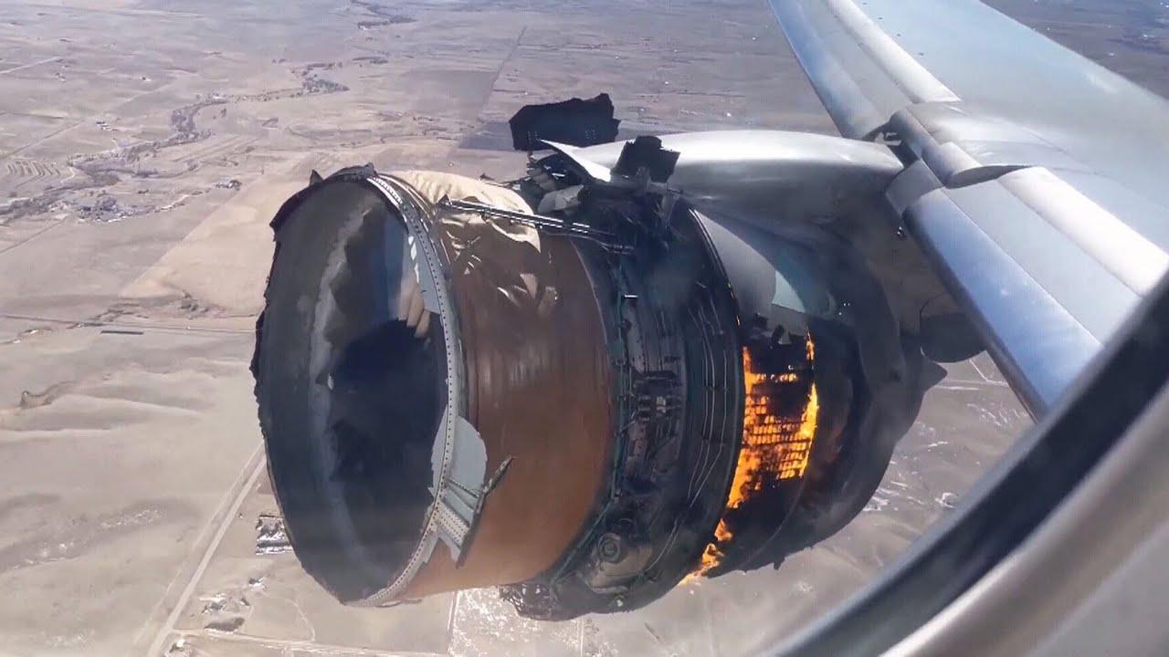 Debris fall from plane engine during emergency landing near Denver 1