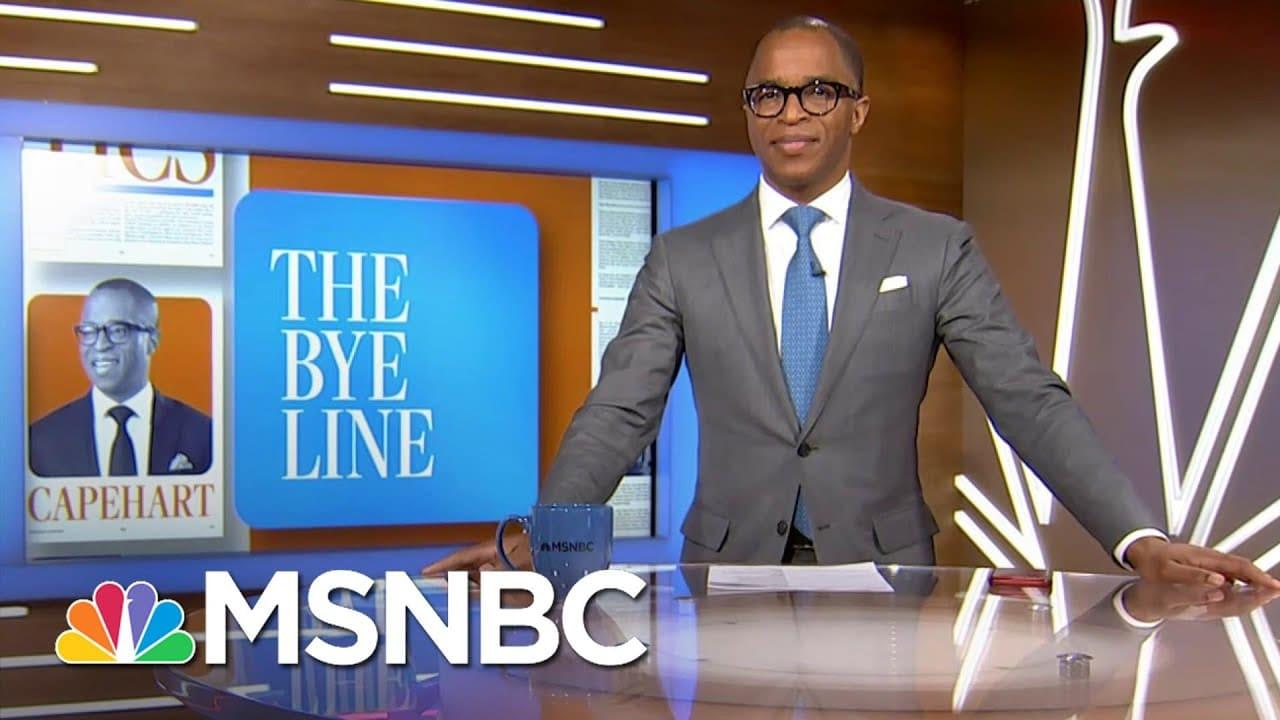 Capehart Compares And Contrasts Biden vs. Trump, Celebrating 'Returned Order'   MSNBC 1
