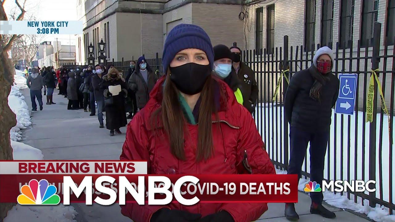Vaccine Delays Impact NYC As The U.S. Surpasses 500,000 COVID-19 Deaths | MSNBC 1
