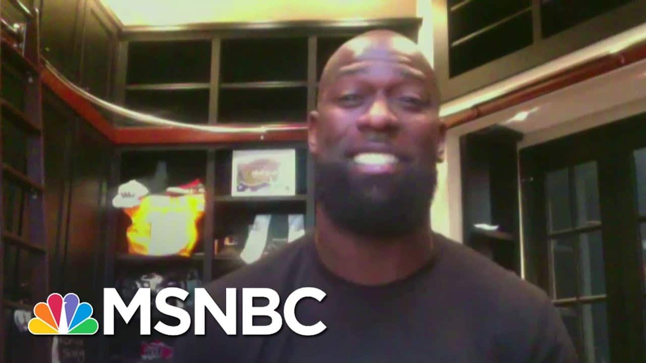 NFL's Michael Thomas On His Mission To Expand Kids' Financial Literacy | Stephanie Ruhle | MSNBC 5