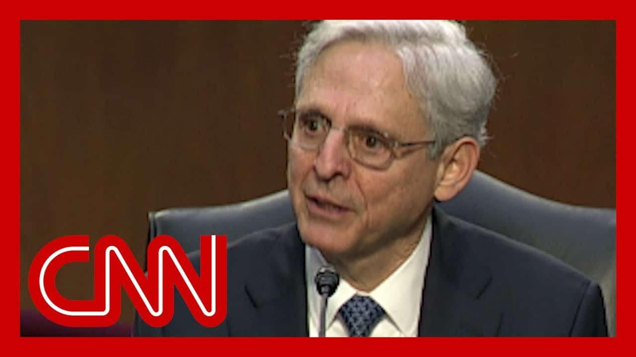 Merrick Garland gives emotional response to senator's question 1