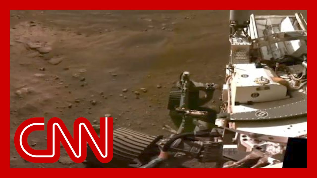 Watch the Perseverance rover's first footage of Mars 1