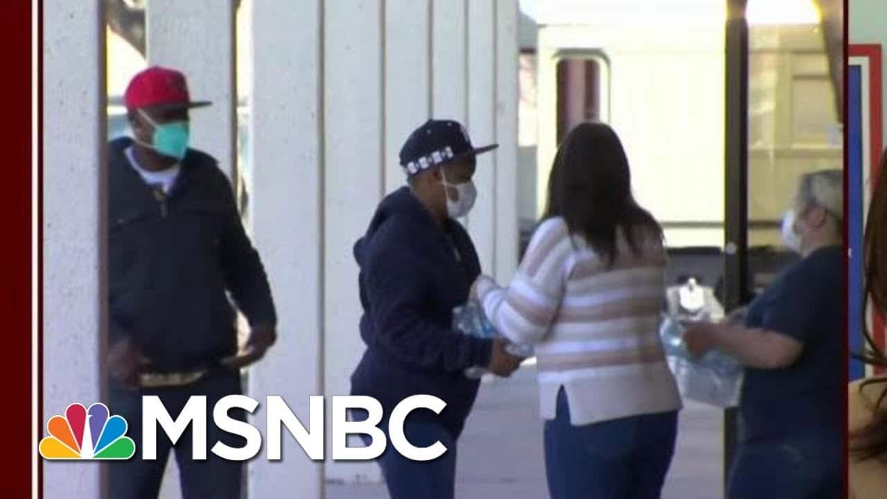 Joe Biden Declares Major Disaster For Much Of Texas | Morning Joe | MSNBC 1