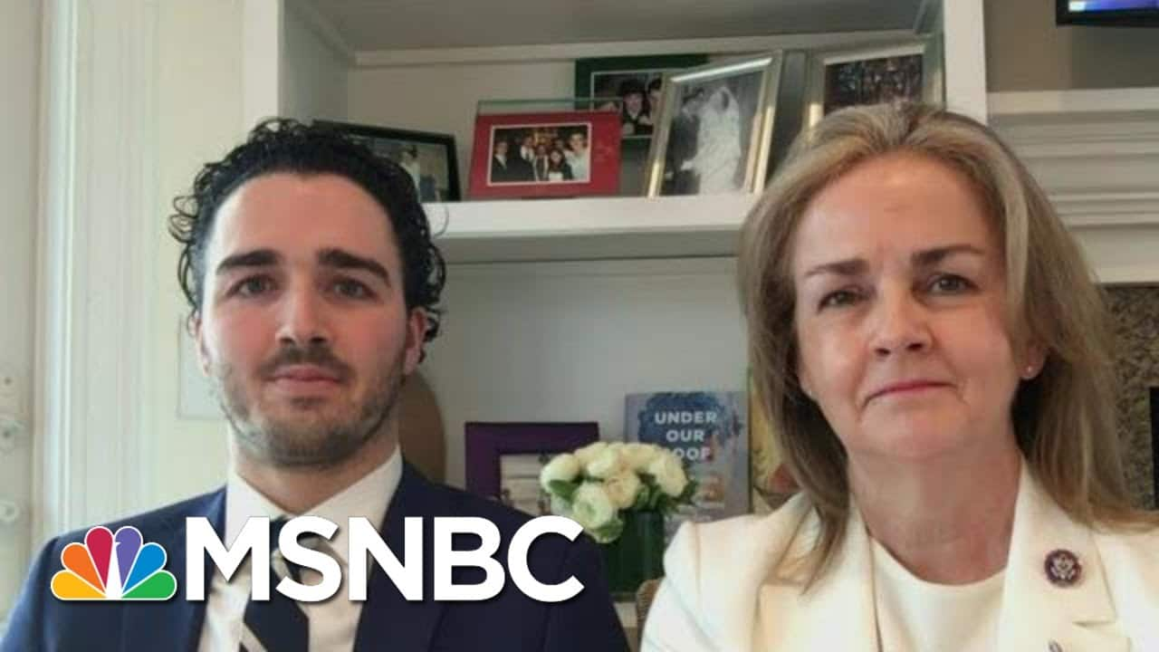 Congresswoman And Son Tackle Addiction And Recovery In Memoir   Morning Joe   MSNBC 1